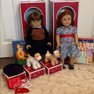 AUTHENTIC American Girl Molly & Emily Collection